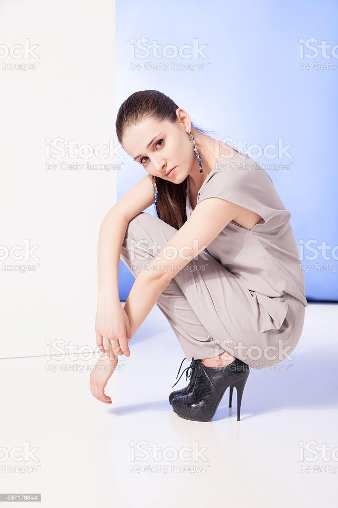 Heels girl in Girls heels