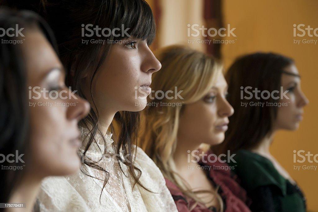 Portrait of Women royalty-free stock photo