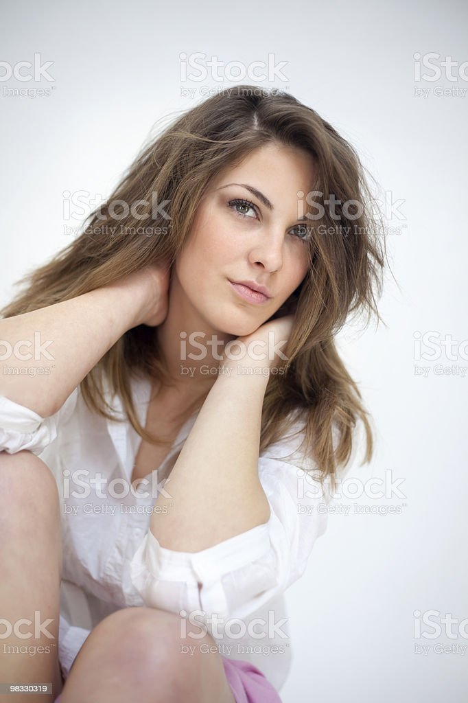 Portrait of women royalty-free stock photo