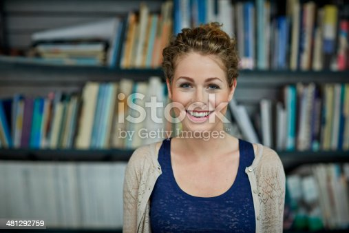 istock Portrait of young architect 481292759