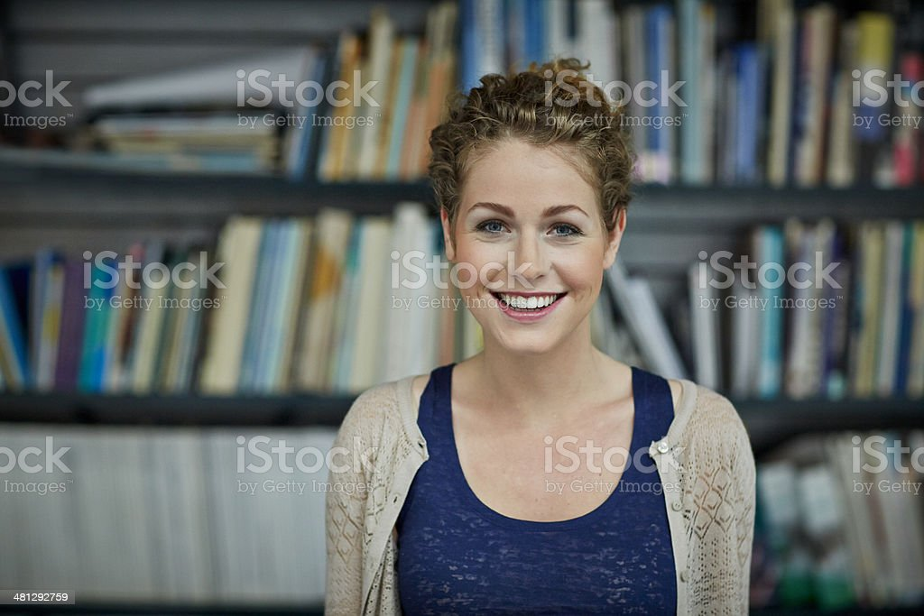 Portrait of young architect - foto stock