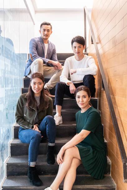 Porträt junger asiatischer Unternehmer – Foto