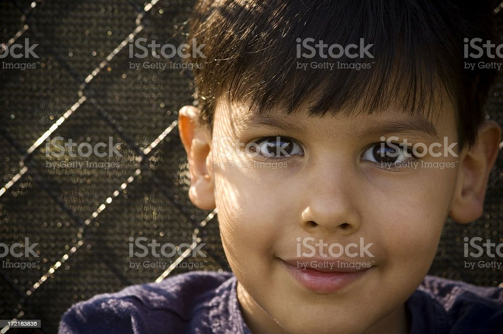 portrait of young athlete royalty-free stock photo