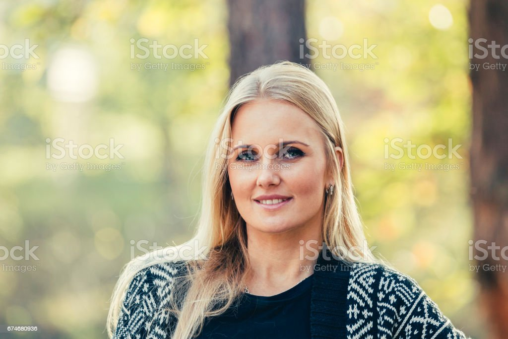 Portrait of Young Attractive Woman - foto de stock