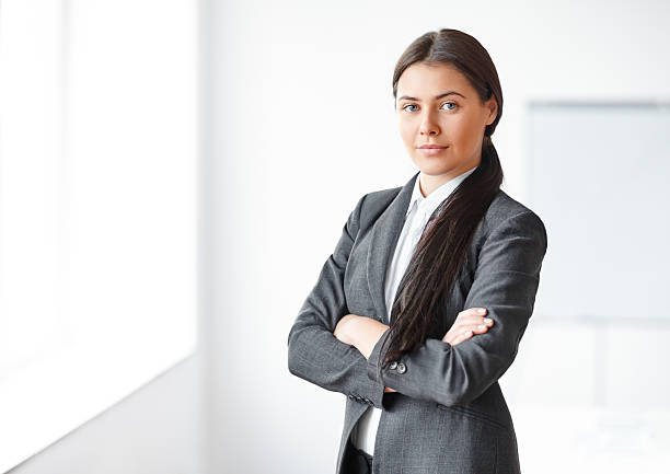 Businesswoman pictures images and stock photos istock - Office portrait photography ...