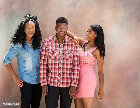 Portrait Of Young Black Friends Stock Photo & More Pictures of Accuracy