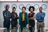 istock Portrait Of Young Business Team 1191817260