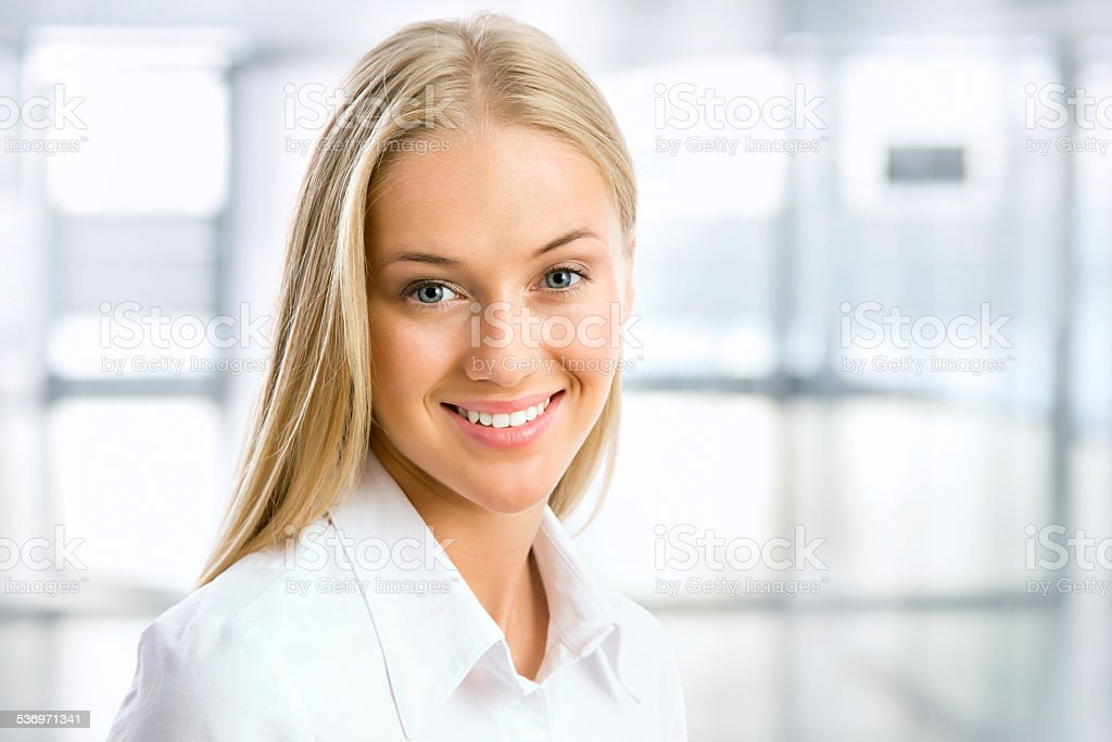 Portrait of young business woman – Foto