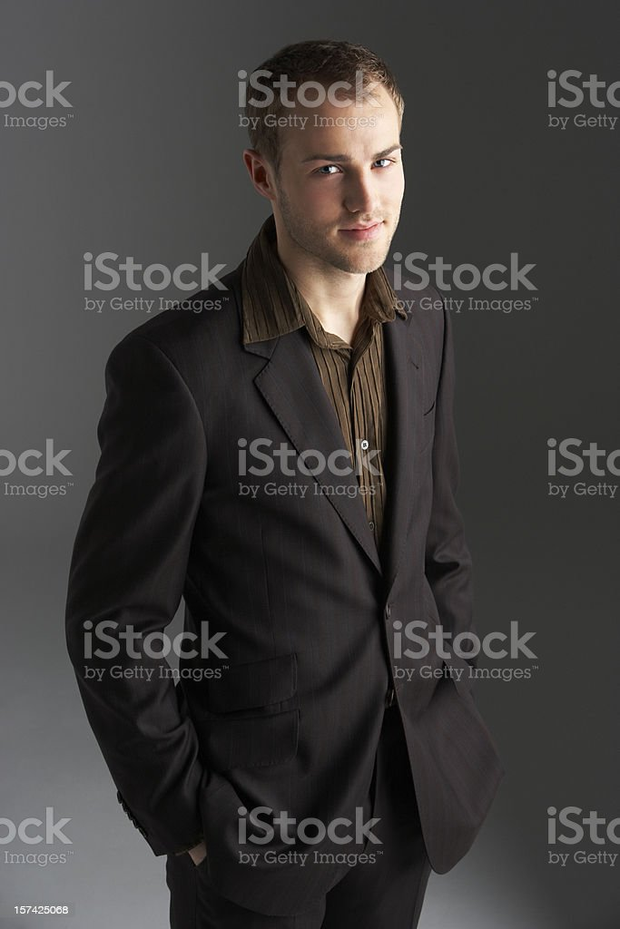 Portrait Of Young Businesswoman  20-29 Years Stock Photo
