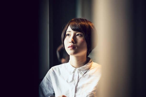 若い女性のビジネス人の肖像画。 ストックフォト
