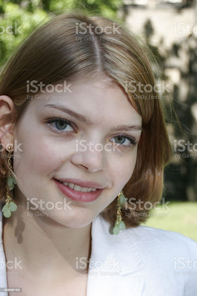 Portrait of Young Female stock photo