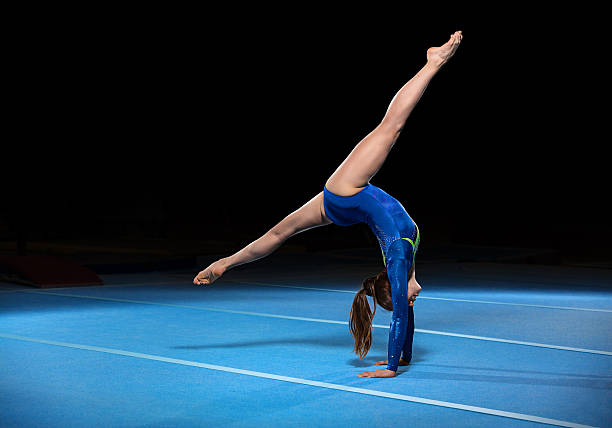 Royalty free gymnastics floor pictures images and stock for Floor gymnastics