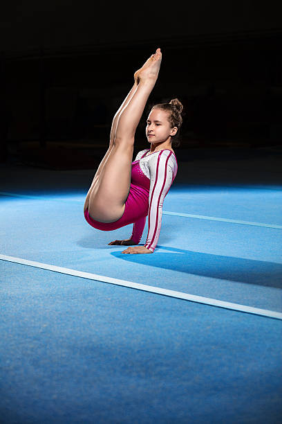 Best Gymnastics Floor Stock Photos Pictures Amp Royalty