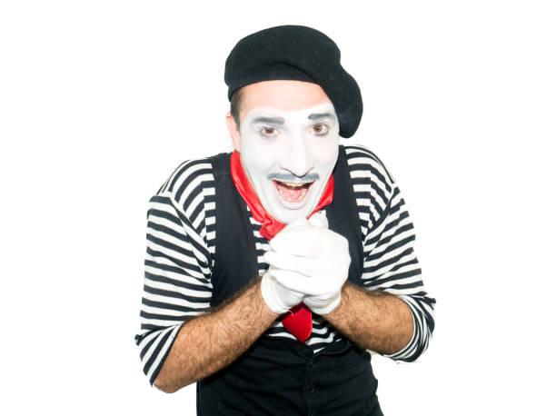 Young Man IN Clown Makeup Stock Photos - FreeImages.com
