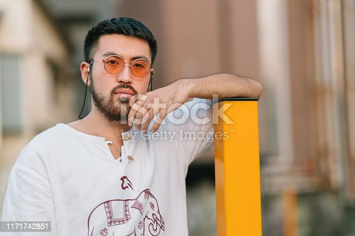 542972720 istock photo Portrait of young man 1171742851