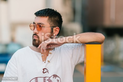 542972720 istock photo Portrait of young man 1171742927