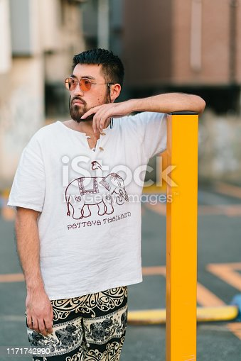 542972720 istock photo Portrait of young man 1171742990