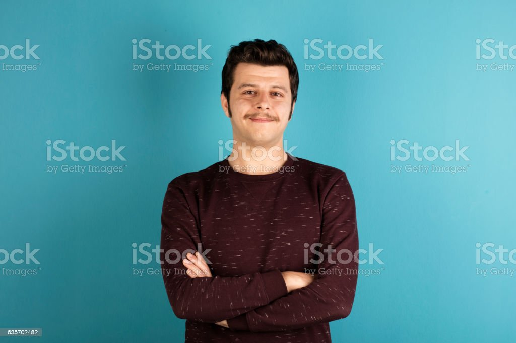 Portrait of young man. royalty-free stock photo