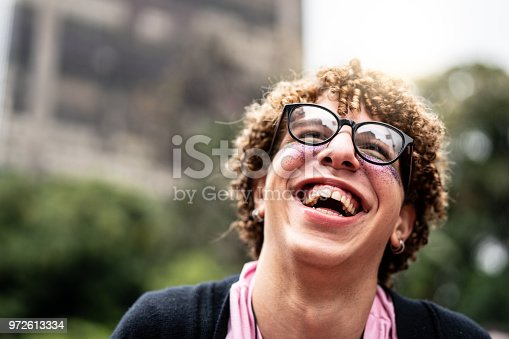972902010 istock photo Portrait of young man 972613334