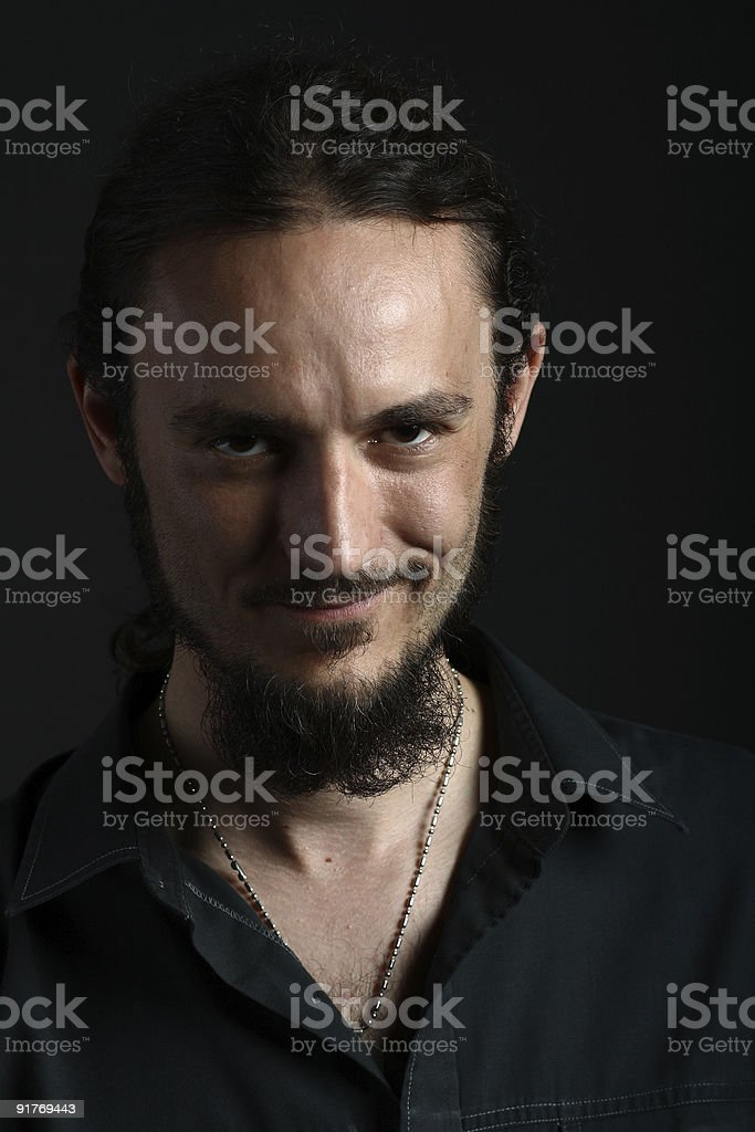 Super Portrait Of Young Man With Goatee Beard Stock Photo Download Schematic Wiring Diagrams Amerangerunnerswayorg