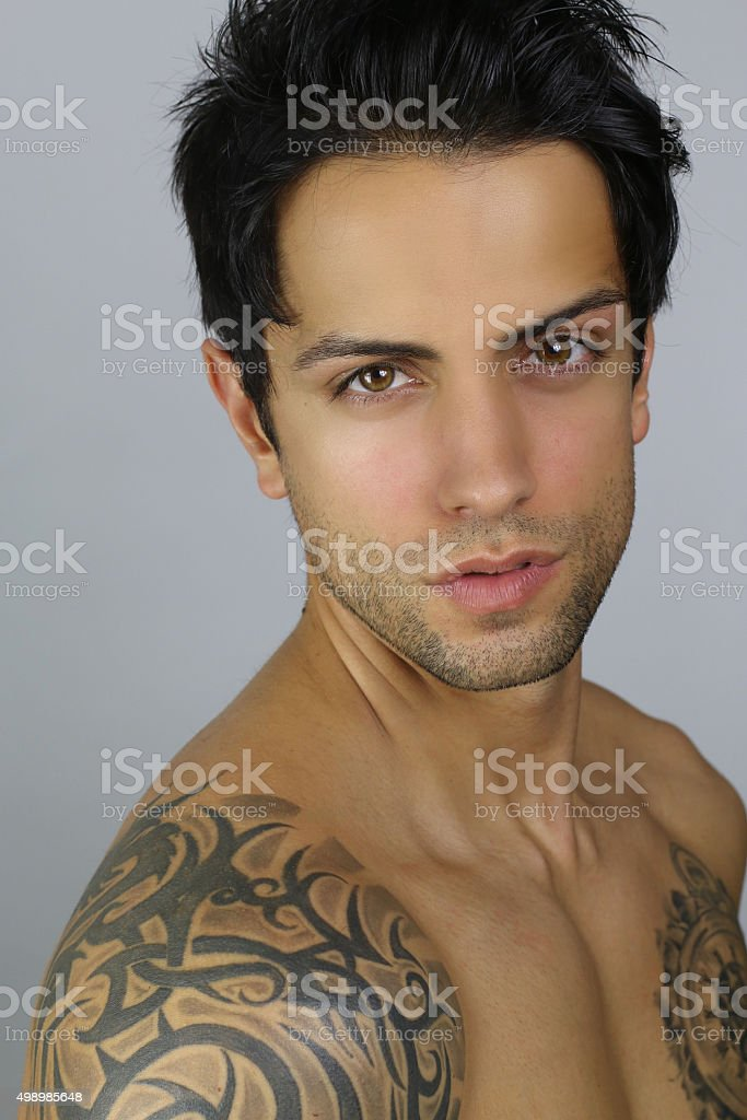 Very handsome man
