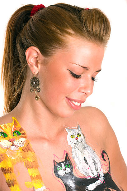 Pussy Tattoo Stock Photos, Pictures & Royalty-Free Images