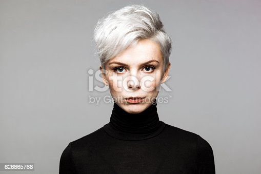 istock Portrait of Young Woman 626865766