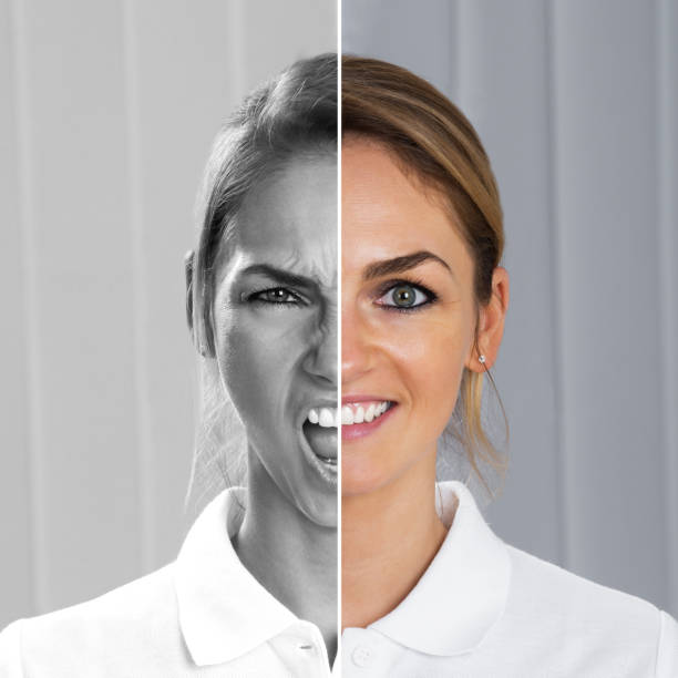 Best Split Face Stock Photos, Pictures & Royalty-Free