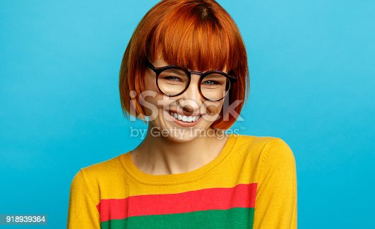 876629044istockphoto Portrait of young woman 918939364