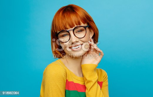 876629044istockphoto Portrait of young woman 918962064