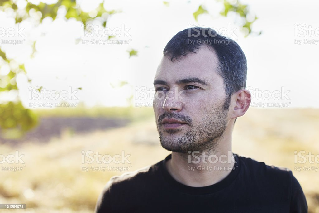 Portrait outdoors royalty-free stock photo
