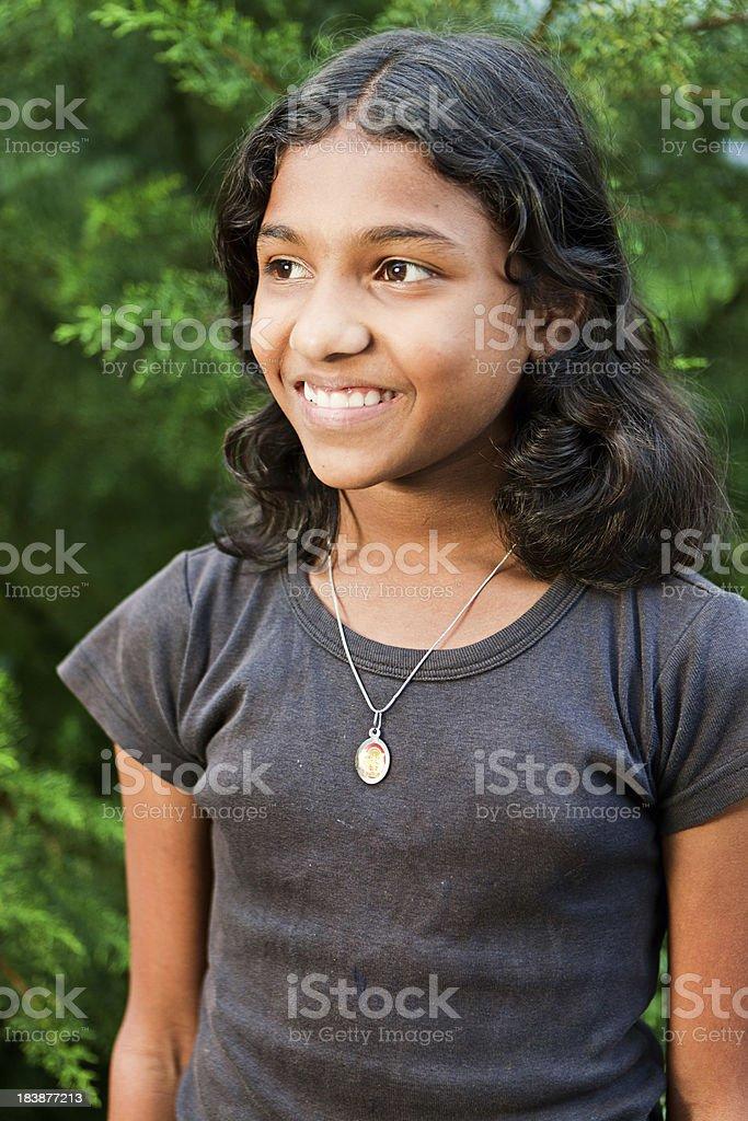 Portrait Sri Lankan Young Girl Stock Photo - Download Image Now - Istock-1119