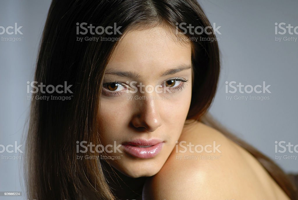 portrait woman royalty-free stock photo