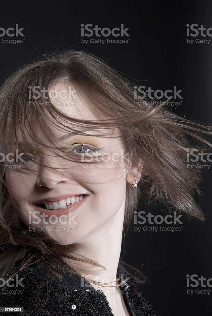 portrait woman royalty free stockfoto