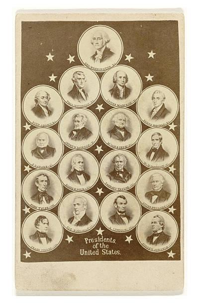 retratos de american presidents - presidents day - fotografias e filmes do acervo