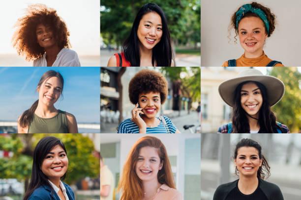 美女的肖像 - womens day 個照片及圖片檔