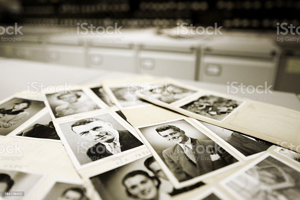 Portraits. royalty-free stock photo