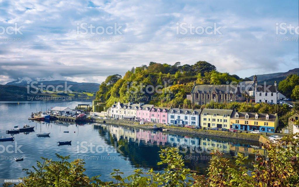 Portree, Isle of Skye, Schottland – Foto
