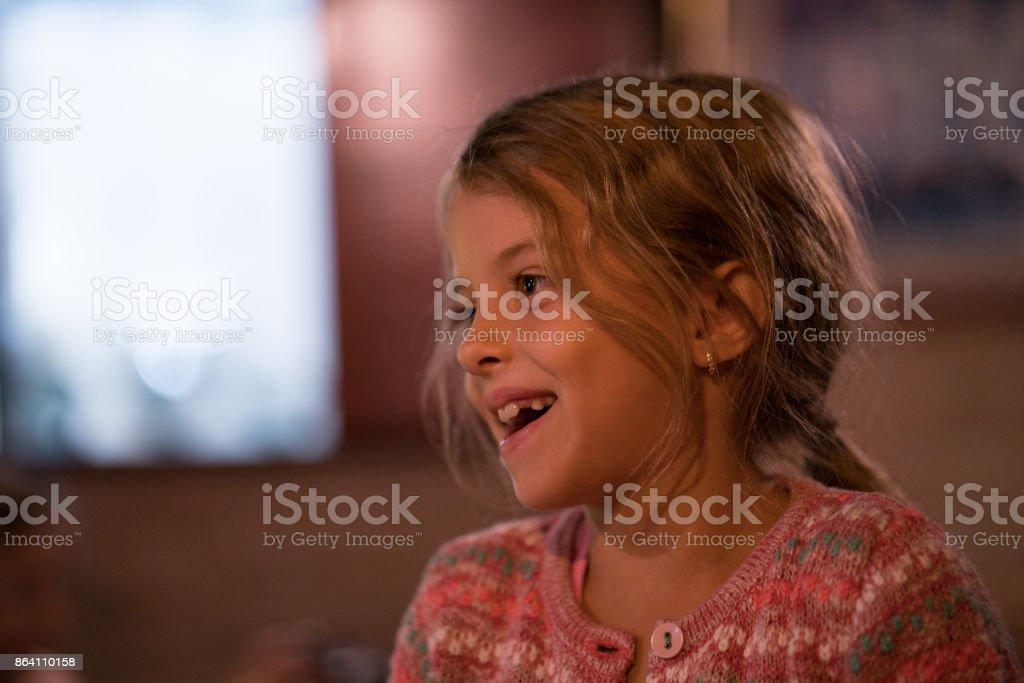 Portret little beauty girl smilling royalty-free stock photo