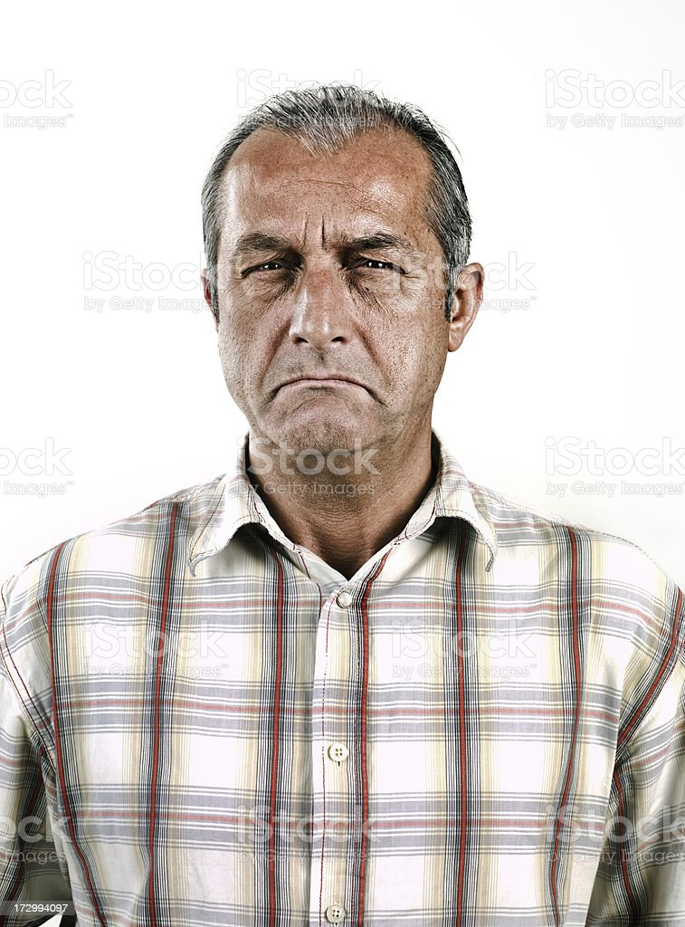 Portriat of a Man stock photo
