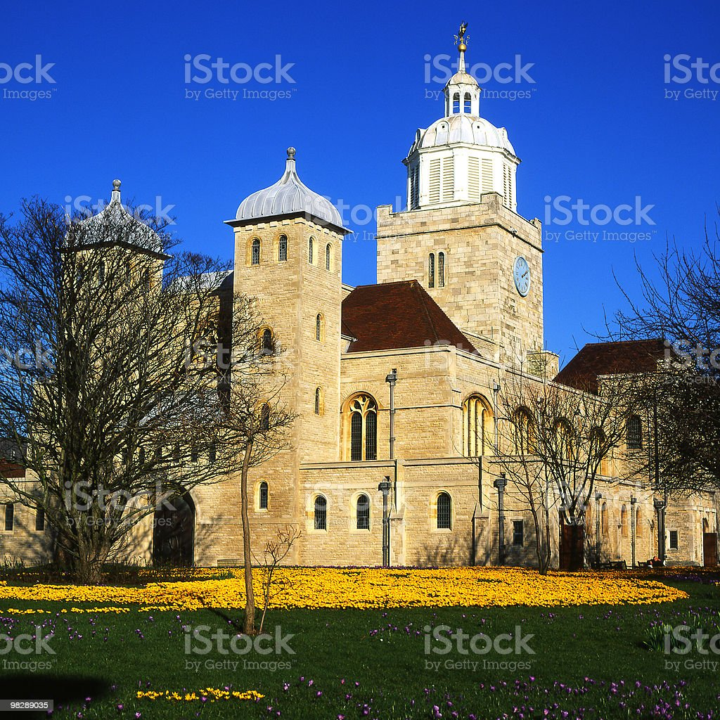 Portsmouth Cathedral in Hampshire. England royalty-free stock photo