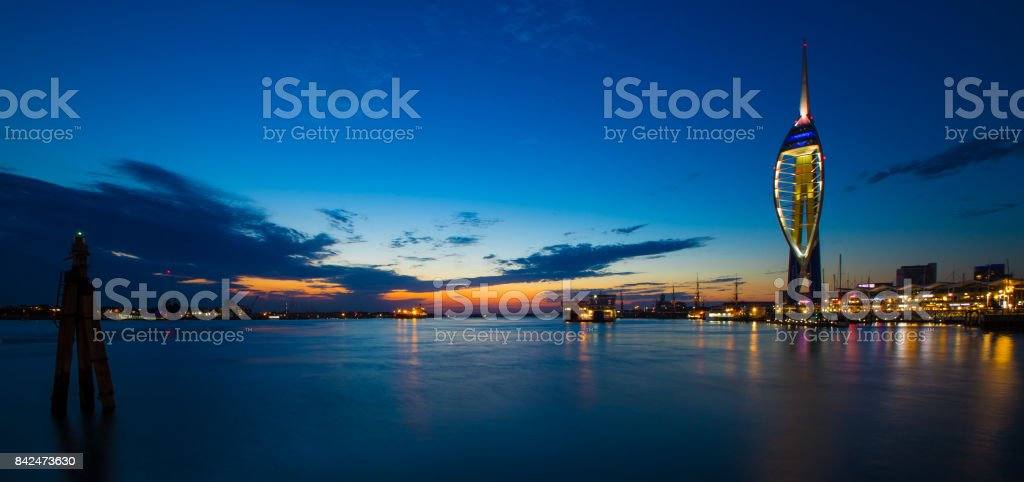 Portsmouth England stock photo