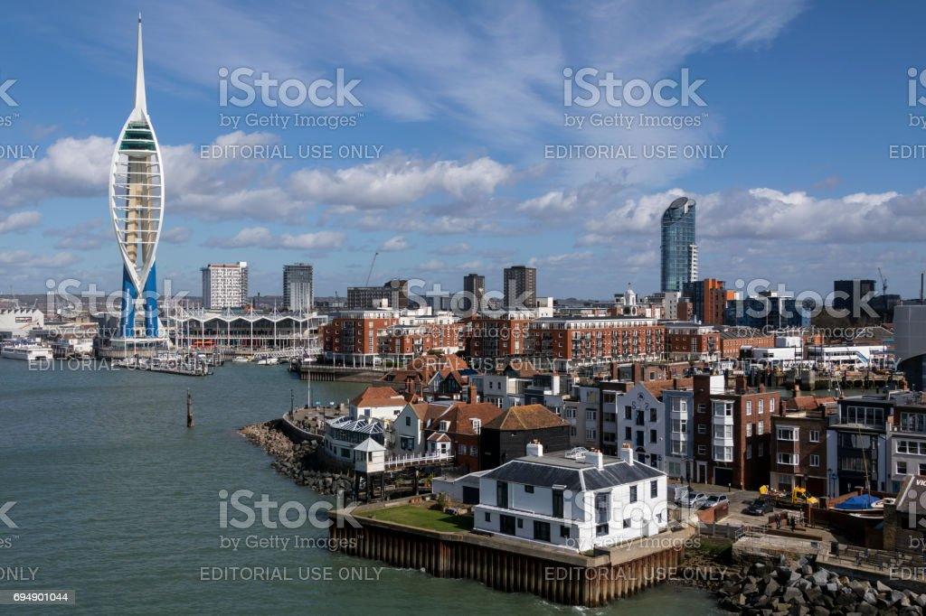 Portsmouth - England - United Kingdom stock photo
