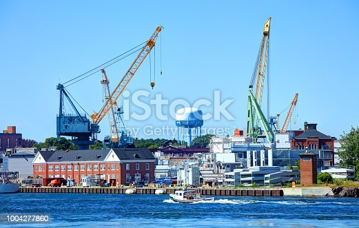 The Portsmouth Naval Shipyard (PNS), often called the Portsmouth Navy Yard, is a United States Navy shipyard located in Kittery on the southern boundary of Maine near the city of Portsmouth, New Hampshire.