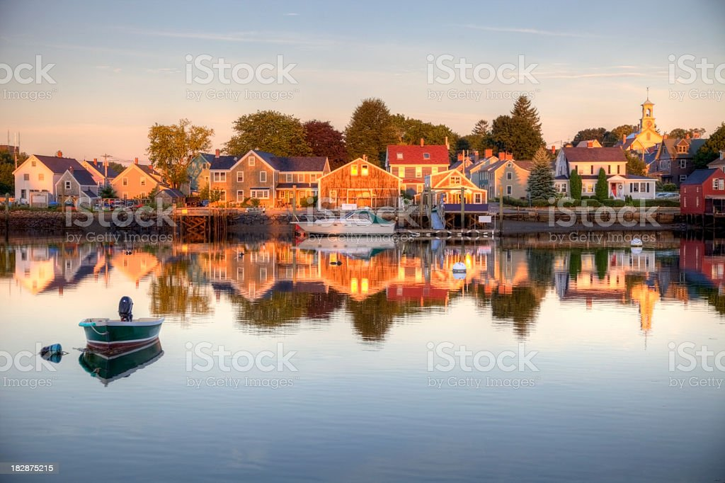 Portsmouth New Hampshire stock photo