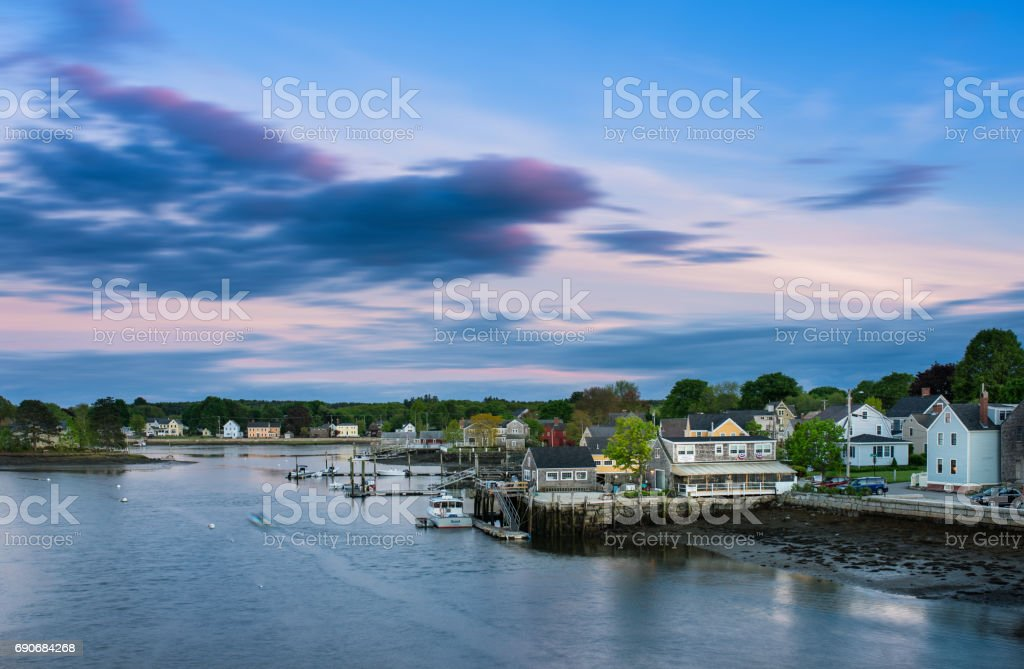 Portsmouth, New Hampshire stock photo