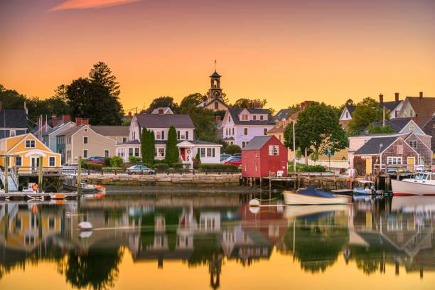 Portsmouth, New Hampshire, USA stock photo