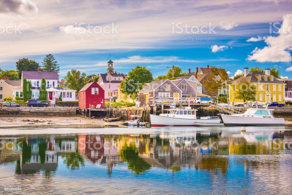Portsmouth New Hampshire Usa Stock Photo - Download Image