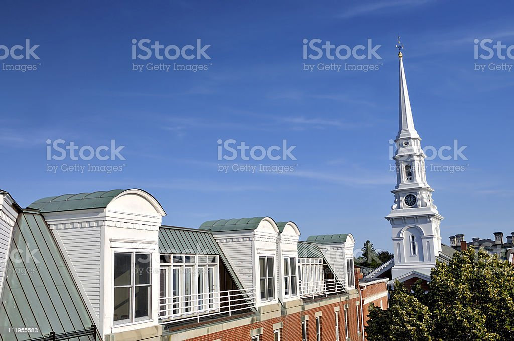 Portsmouth Perspective stock photo