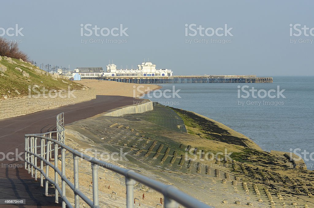 Portsmouth Seafront. Hampshire. England stock photo